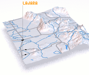 3d view of La Jara