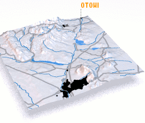3d view of Otowi