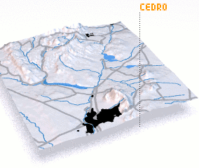 3d view of Cedro