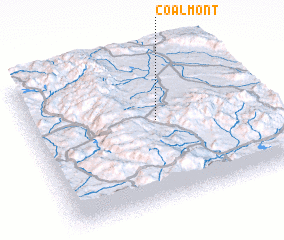 3d view of Coalmont