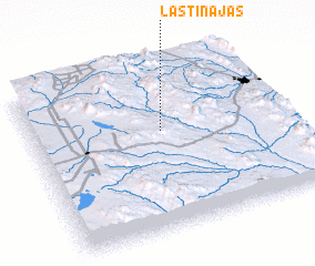 3d view of Las Tinajas