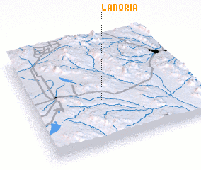 3d view of La Noria