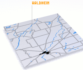 3d view of Waldheim