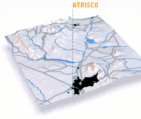 3d view of Atrisco