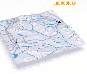 3d view of La Boquilla