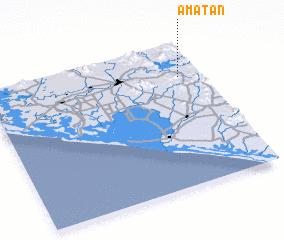 3d view of Amatán