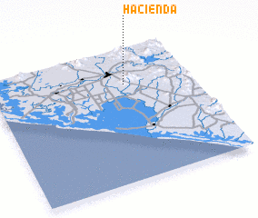 3d view of Hacienda