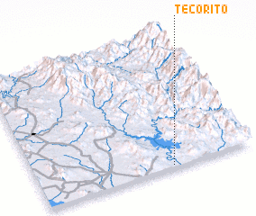 3d view of Tecorito