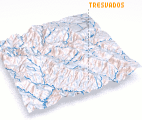 3d view of Tres Vados