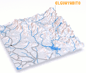3d view of El Guayabito