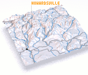 3d view of Howardsville