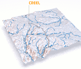 3d view of Creel