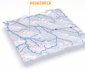 3d view of Agua Zarca