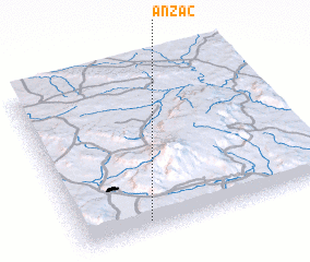 3d view of Anzac