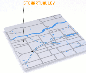 3d view of Stewart Valley