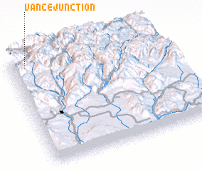 3d view of Vance Junction