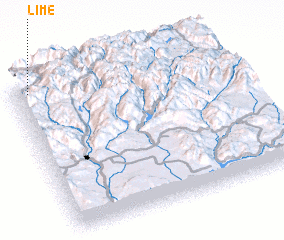 3d view of Lime