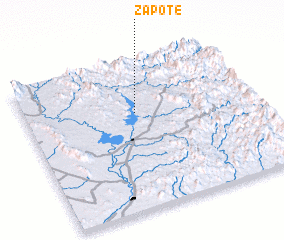 3d view of Zapote