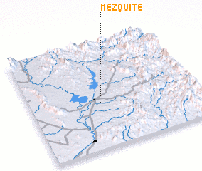 3d view of Mezquite