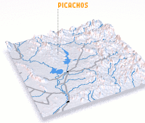 3d view of Picachos