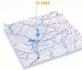 3d view of El Vado