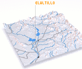 3d view of El Altillo