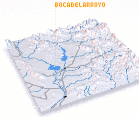 3d view of Boca del Arroyo