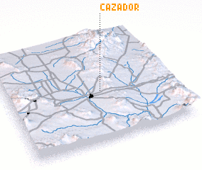 3d view of Cazador