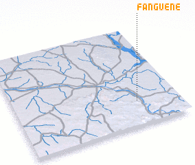 3d view of Fanguéné