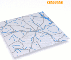 3d view of Kérouané