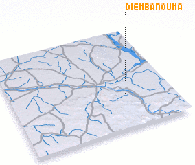 3d view of Diembanouma