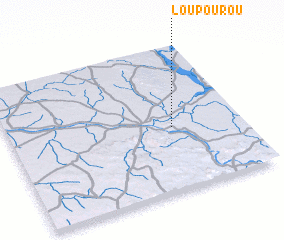 3d view of Loupourou