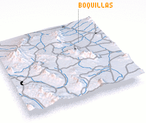 3d view of Boquillas