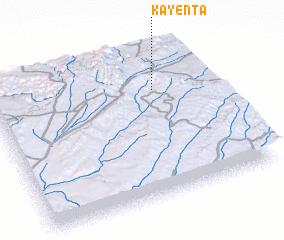 3d view of Kayenta