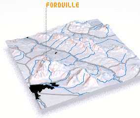 3d view of Fordville