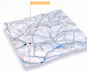 3d view of Branaman