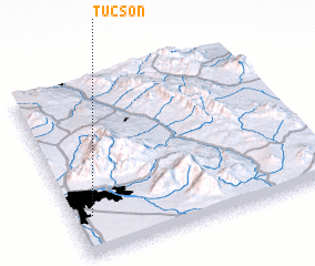 3d view of Tucson
