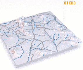 3d view of Otero