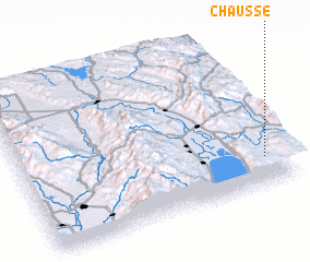 3d view of Chausse
