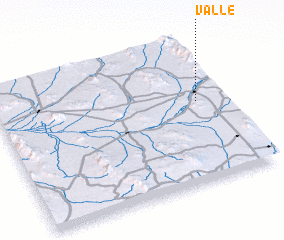 3d view of Valle