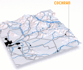 3d view of Cochran