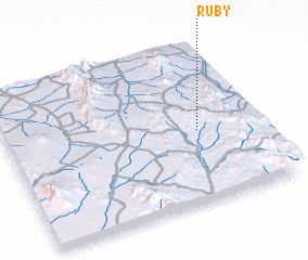 Ruby Arizona Map.Ruby United States Usa Map Nona Net