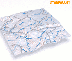 3d view of Star Valley