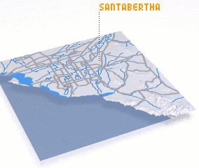 3d view of Santa Bertha