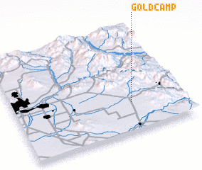 3d view of Gold Camp