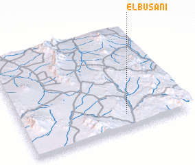 3d view of El Busani