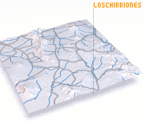 3d view of Los Chirriones