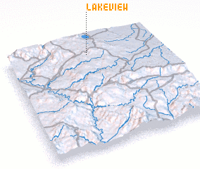 3d view of Lakeview