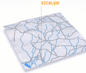 3d view of Ezcalqui