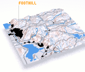 3d view of Foothill